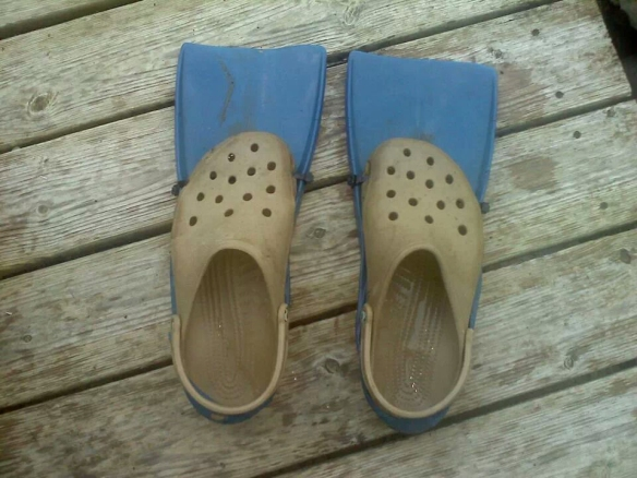 "Homemade ""Sea Crocks"""