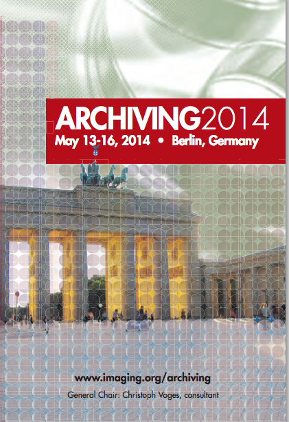 IS&T Archiving 2014
